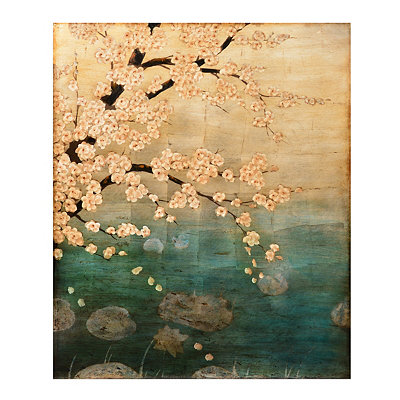 Plum Blossoms Canvas Art Print