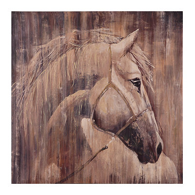 Majestic Stallion Canvas Art Print