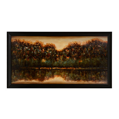 Transcending Framed Canvas Art Print