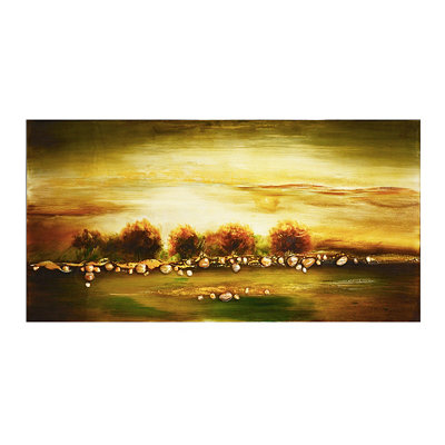 Lake Shore Canvas Art Print