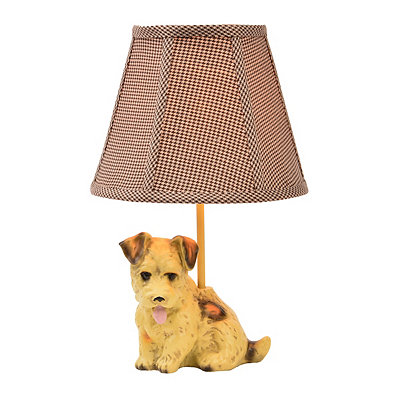 Buddy the Terrier Table Lamp