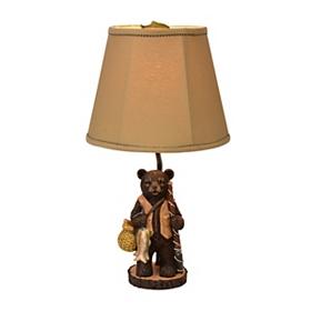 Gone Fishing Bear Table Lamp