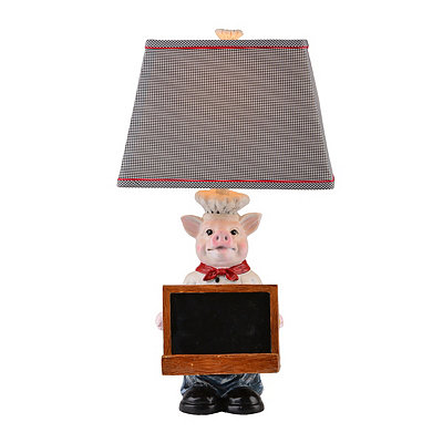 Chef Oink Table Lamp