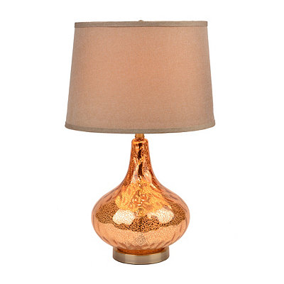 Jolie Brown Glass Table Lamp