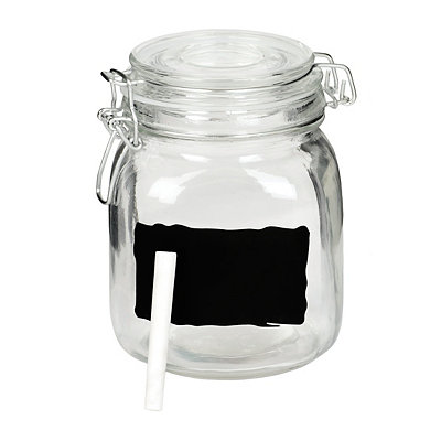 Small Chalkboard Canister