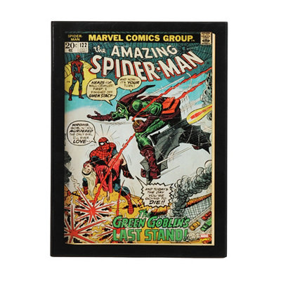 Spider-Man Comic Book Plaque
