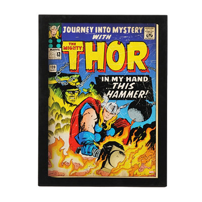 The Mighty Thor Comic Book Plaque