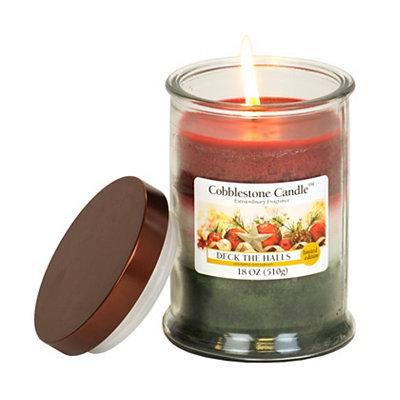 Deck the Halls Jar Candle, 18 oz.