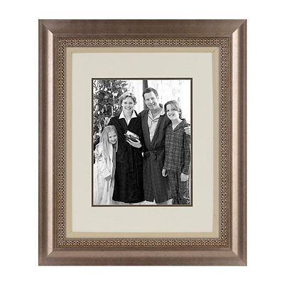 Antique Silver Picture Frame, 11x14