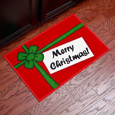 Merry Christmas Scatter Rug