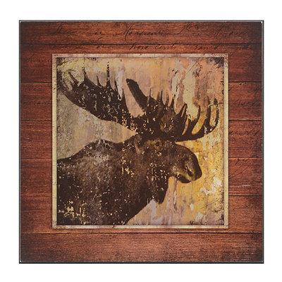 Majestic Moose Plaque