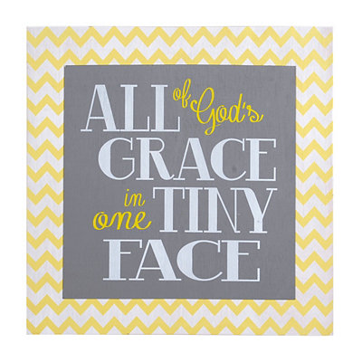 All of God's Grace Wooden Plaque