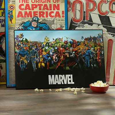 Marvel Universe Framed Art Print