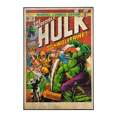 The Incredible Hulk Framed Art Print