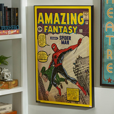 Amazing Spider Man Framed Art Print