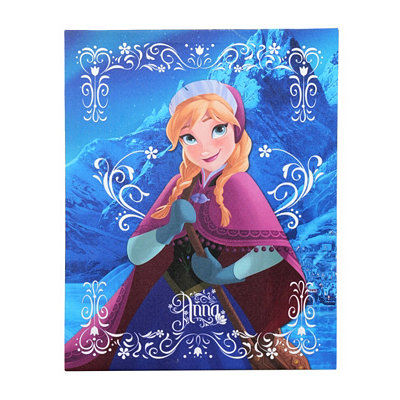 Anna Frozen Canvas Art Print