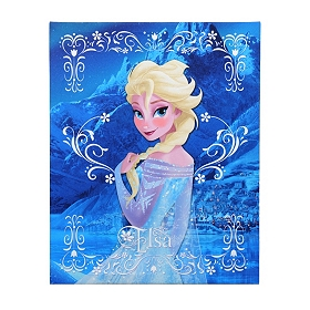 Elsa Frozen Canvas Art Print