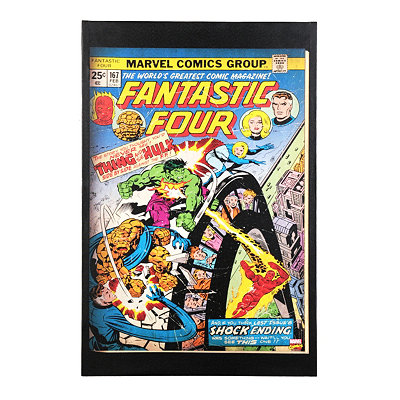 Fantastic Four Comic Book Canvas Art Print
