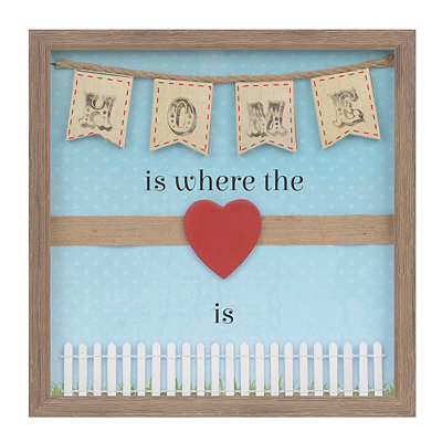 Home Is Where the Heart Is Shadowbox