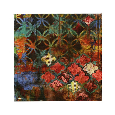 Boho Vintage Canvas Art Print