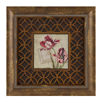 French Tulips II Framed Art Print