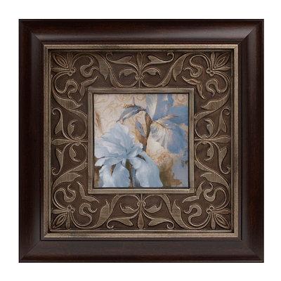 Blue Floral I Framed Art Print