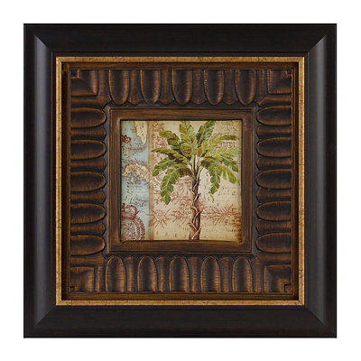 Antique Palm II Framed Art Print