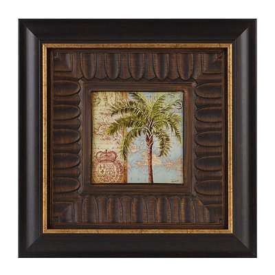 Antique Palm I Framed Art Print