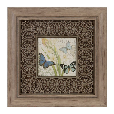 Botanical Butterfly II Framed Art Print