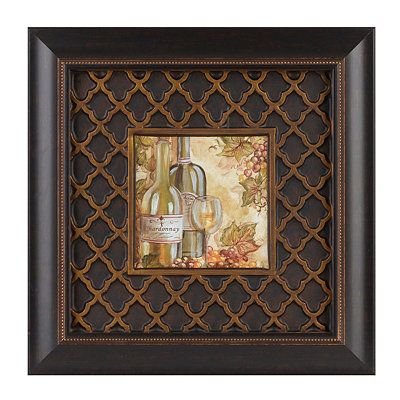 Parisian Wine I Framed Art Print