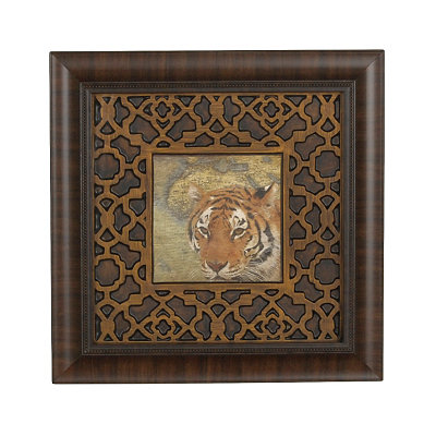 Tiger Safari Framed Art Print