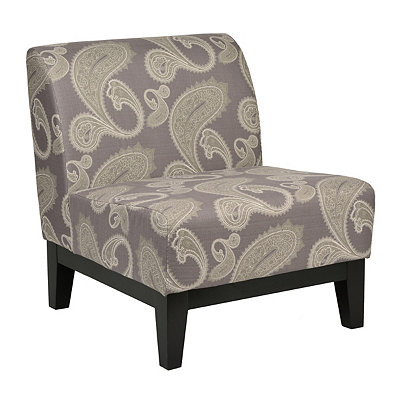 Glen Paisley Print Accent Chair