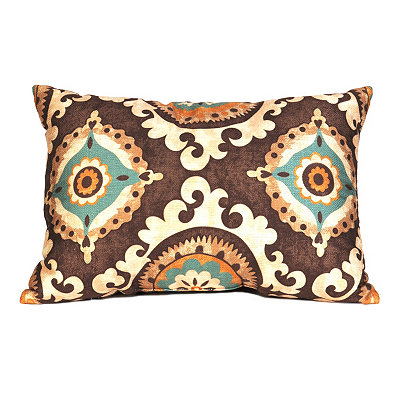 Brown Valerie Accent Pillow