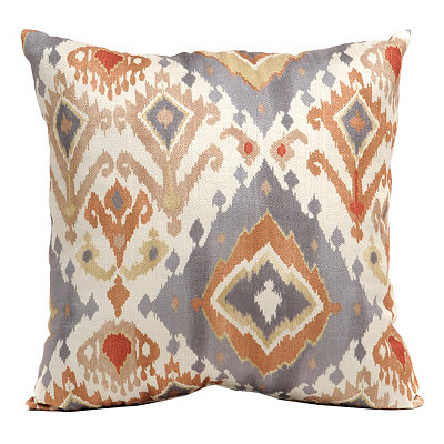 Spice Lodge Ikat Pillow