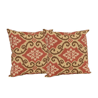 Shoreham Brick Outdoor Accent Pillows, Set of 2