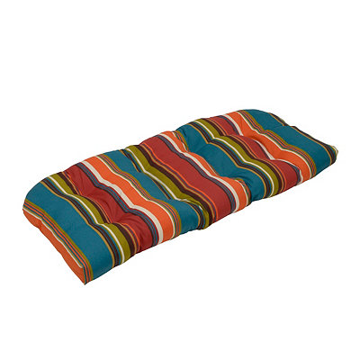 Westport Teal Outdoor Settee Cushion