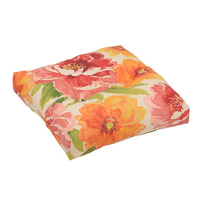 Muree Primrose Outdoor Ottoman Cushion