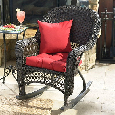 Pompeii Red Outdoor Cushion