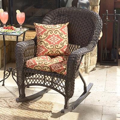 Shoreham Brick Outdoor Cushion