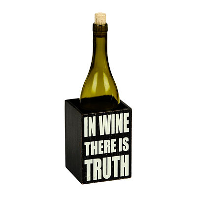In Wine There Is Truth Wine Caddy