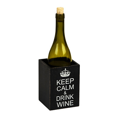 Keep Calm Drink Wine Caddy