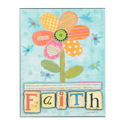 Musical Inspirations Faith Plaque