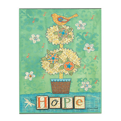 Musical Inspirations Hope Plaque