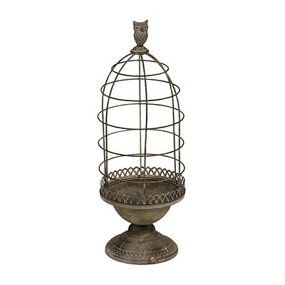 Wire Bird Cage Planter, 24 in.