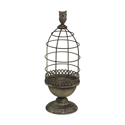 Wire Bird Cage Planter, 18 in.