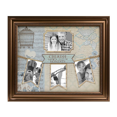 Cherish Life's Little Moments Collage Frame