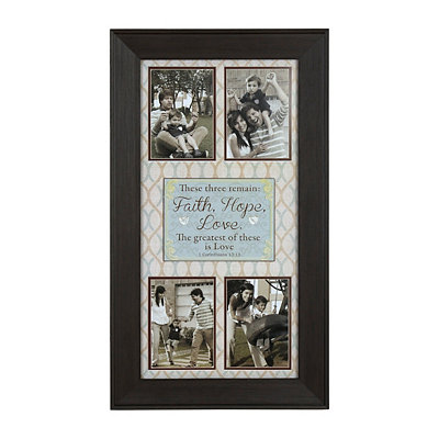 The Greatest is Love Collage Frame