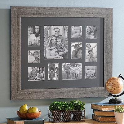 Rustic Black Collage Frame