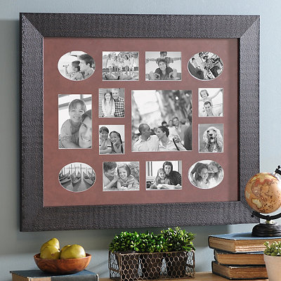 Rustic Spice Collage Frame