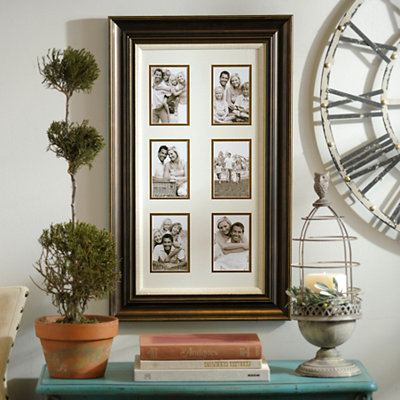 Dark Bronze Collage Frame